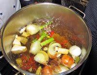 suppe - Selbstgemachter Rindsuppenwürfel