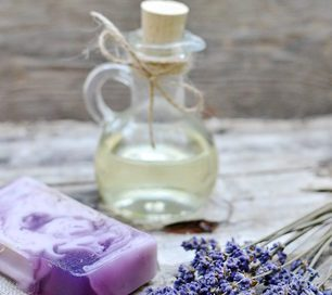 Lavendelseife selbstgemacht