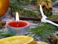 Weihnachtsgeschenk zum selber machen: Wunderbare Orangen-Zimt-Kerzen