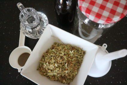 Zubereitung Lindenblütentinktur