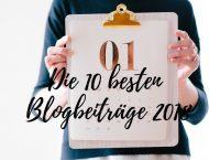 Die besten 10 Blogbeiträge 2018 der Kräuterhexe